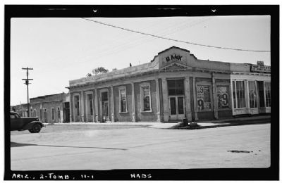Cochise County Bank Building image. Click for full size.