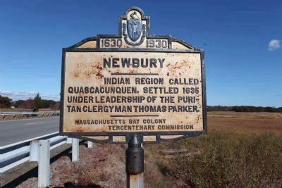 Newbury Marker image. Click for full size.