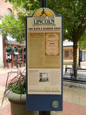 The Bath & Barber Shop Marker image. Click for full size.