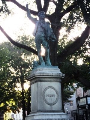 Oliver Hazard Perry Statue image. Click for full size.