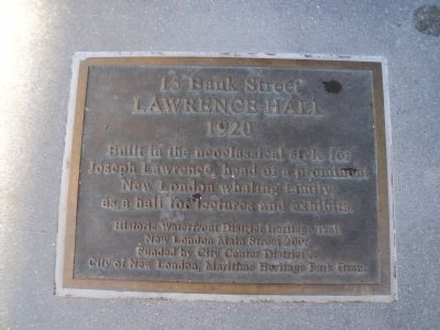 15 Bank Street Marker image. Click for full size.