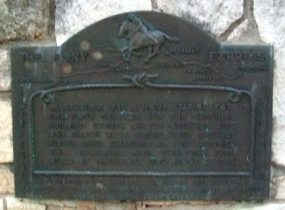 Marysville Marker Photo, Click for full size