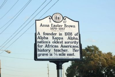 Anna Easter Brown Marker image. Click for full size.