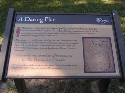 A Daring Plan Marker image. Click for full size.