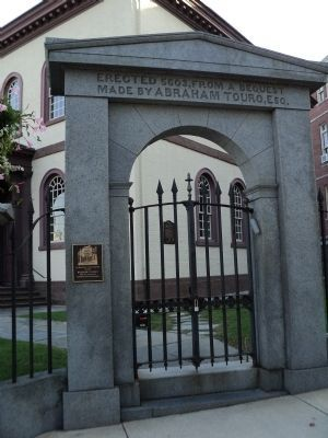 Gateway to Touro Synagogue image. Click for full size.