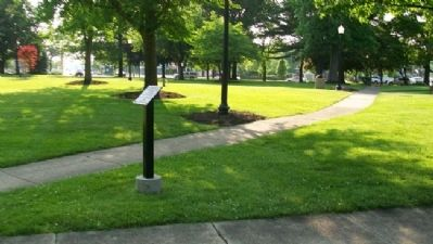 Tallmadge Circle (Public Square) Marker image. Click for full size.