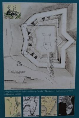Point au Fer - Fort Plans and Survey Maps image. Click for full size.