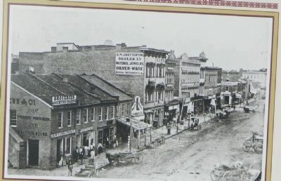 Fifth Street in 1859 image. Click for full size.