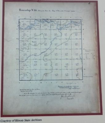 Jefferson's Survey Plan for the Northwest Territory image. Click for full size.