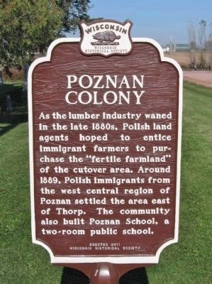 Poznan Colony Marker image. Click for full size.