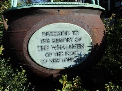 New London Whalemen Marker image. Click for full size.