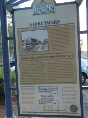 Globe Tavern Marker image. Click for full size.