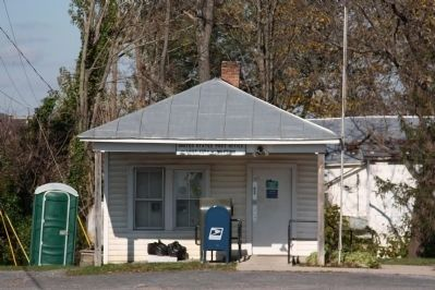 United States Post Office, Lost City, West Virginia image. Click for full size.