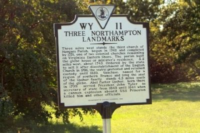 Three Northampton Landmarks Marker image. Click for full size.