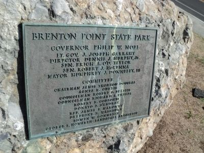 Brenton Point State Park Marker image. Click for full size.