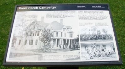 Front Porch Campaign Marker Photo, Click for full size