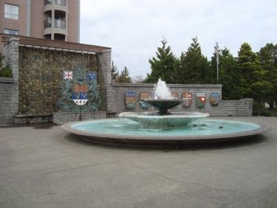 The Centennial Garden Courtyard and Fountain image. Click for full size.
