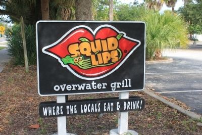 Squid Lips Sign image. Click for full size.