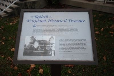 The Rebirth of a Maryland Historical Treasure Marker image. Click for full size.