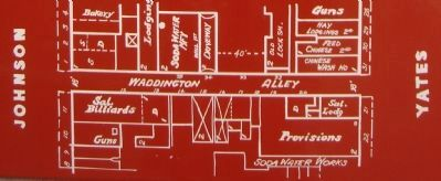 Detail from the Waddington Alley Marker image. Click for full size.