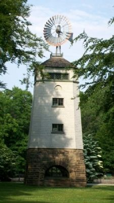 Garfield Estate Windmill image. Click for full size.