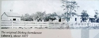 Dickey Farmhouse on Expanding the House Marker image. Click for full size.