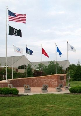 Mentor Veterans Memorial image. Click for full size.