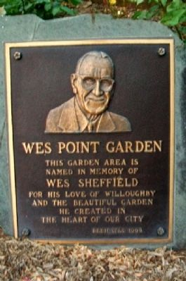 Wes Point Garden Marker image. Click for full size.
