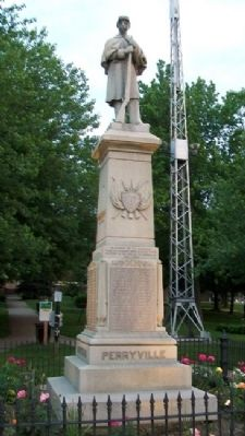 Willoughby Civil War Memorial Photo, Click for full size