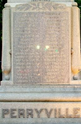 Willoughby Civil War Memorial Roll Photo, Click for full size