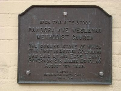 Wesleyan Methodist Church Marker image. Click for full size.