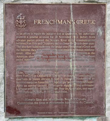 Frenchman's Creek Marker image. Click for full size.