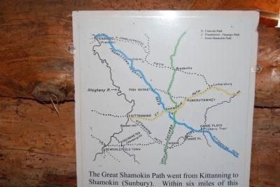 Great Shamokin Path Map image. Click for full size.
