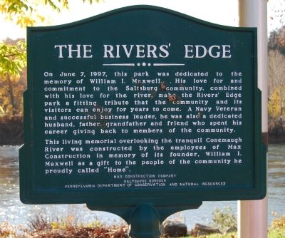 The Rivers' Edge Marker image. Click for full size.