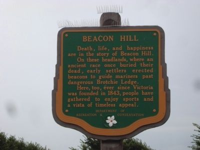 Beacon Hill Marker image. Click for full size.