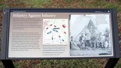 Infantry Against Infantry Marker image. Click for full size.