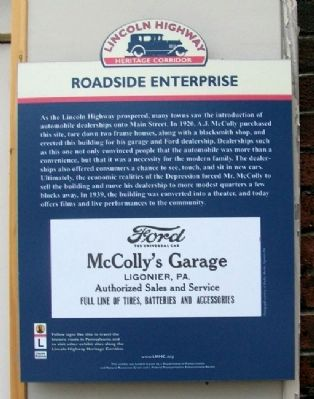 Roadside Enterprise Marker Photo, Click for full size