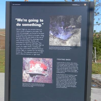 Flight 93 Marker Panel 3 image. Click for full size.