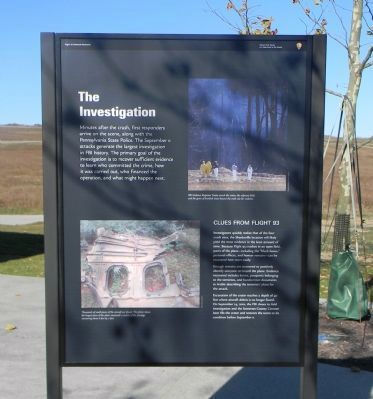 Flight 93 Marker Panel 5 image. Click for full size.