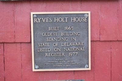 Ryves Holt House Colonial Dames National Register Plaque image. Click for full size.