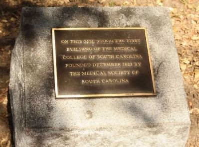 First Medical College of South C arolina Marker image. Click for full size.