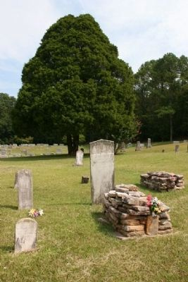 Gravesite of Hepsey Herring. Died October 8, 1848. image. Click for full size.