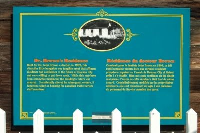 Dr. Brown�s Residence Marker image. Click for full size.