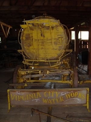 Virginia City Water Wagon image. Click for full size.