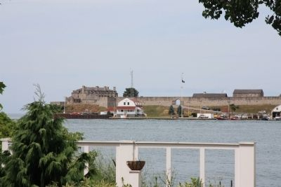 Capture of Fort Niagara image. Click for full size.