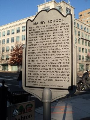 Maury School Marker image. Click for full size.