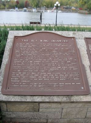 The Sea Wing Disaster Marker Photo, Click for full size