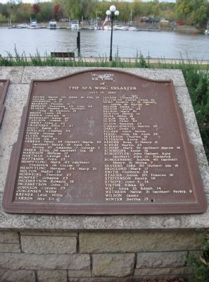 Victims of the Sea Wing Disaster Marker Photo, Click for full size