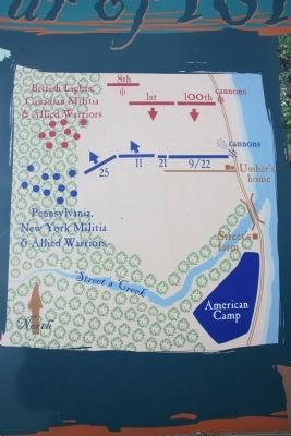 Chippawa Battlefield Panel 4 Marker image. Click for full size.