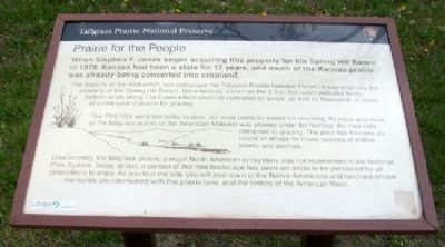 Prairie for the People Marker image. Click for full size.